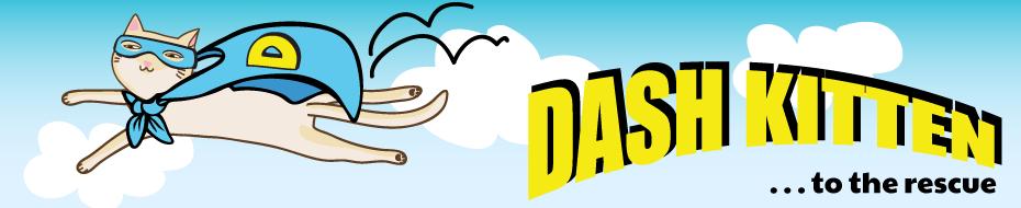 Dash Kitten Banner