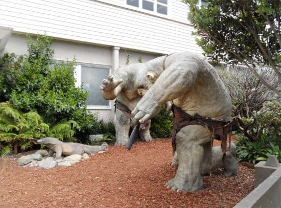 Trolls at Weta Cave, Miramar, Wellington, New Zealand