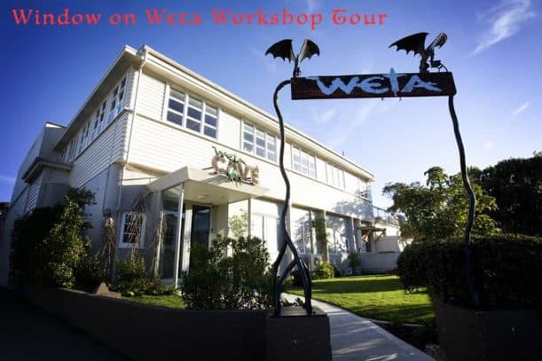 Weta Workshop Building