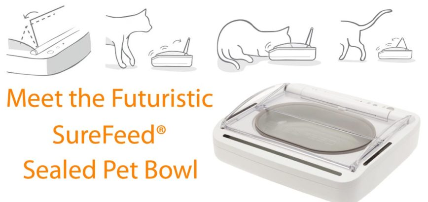 The SureFeed Sealed Pet Feeder from SureFlap