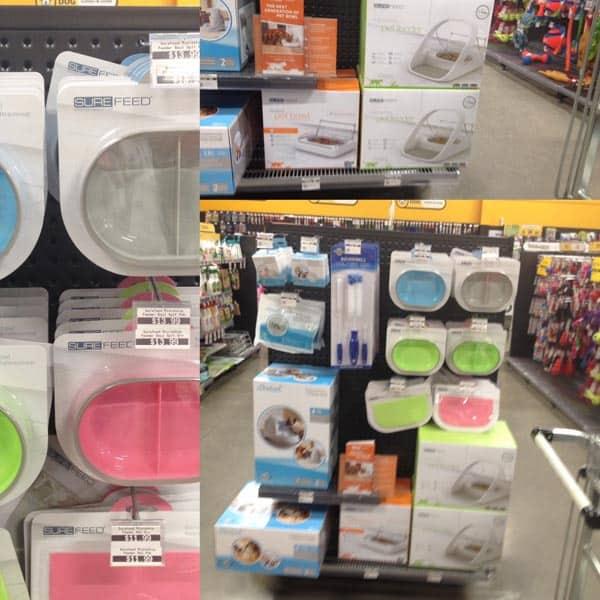 Surefeed products on display Animates New Zealand