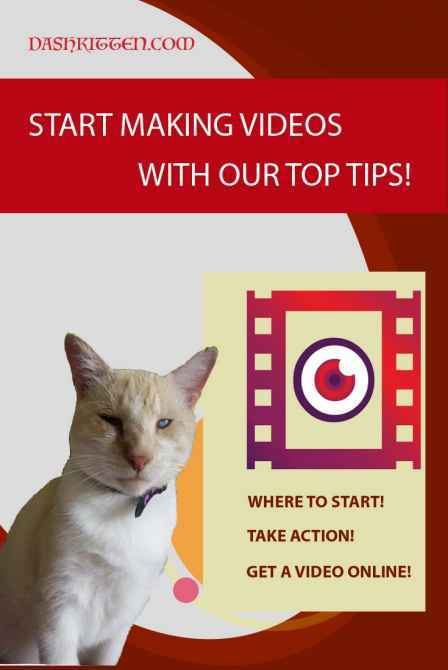 Sart Making a Pet Video