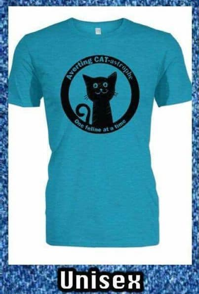 AvertingCAT strophe TShirt for Auction for Rusty