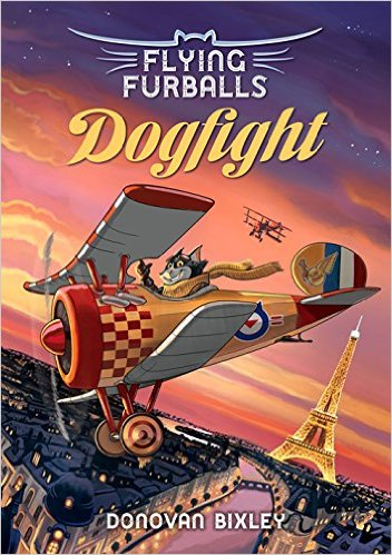 Gift Guide For Unusual Books Dogfight by Donovan Bixley