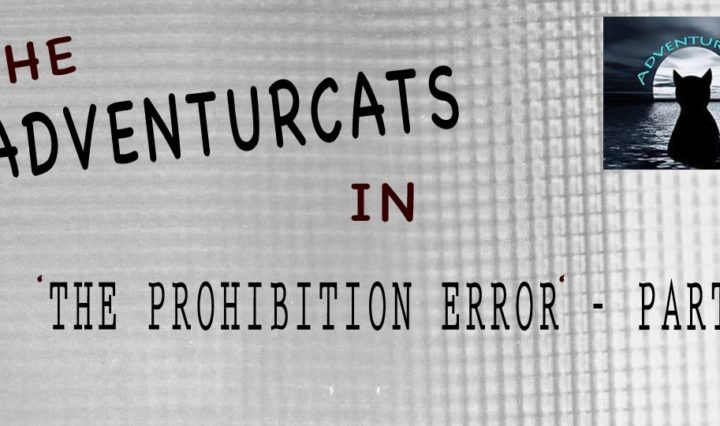 Dramatic Header image of text describing the Adventurcats