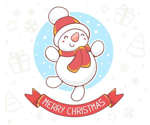 Dancing snowman for Gift Guide 2016