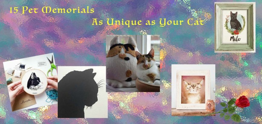 Cat Memorial Ideas as Unique as Your Cat