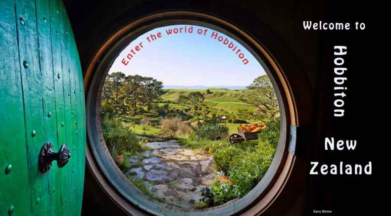 A gawteway to Hobbiton at MataMata