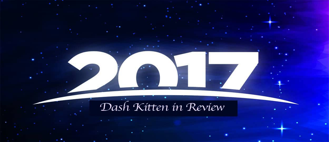 2017 Review Dash Kitten Blog