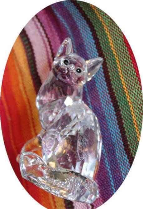 Swarovski Cat Main Coon