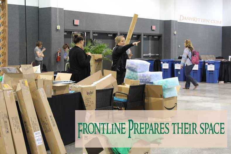 BlogPaws report Frontline picture