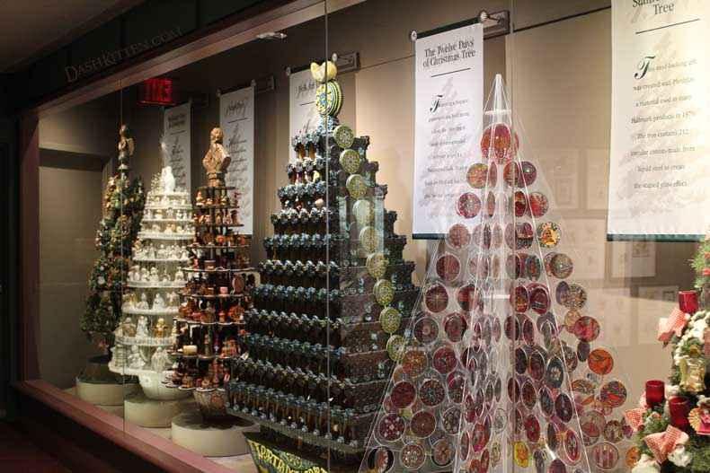 Hallmark Christmas Trees five