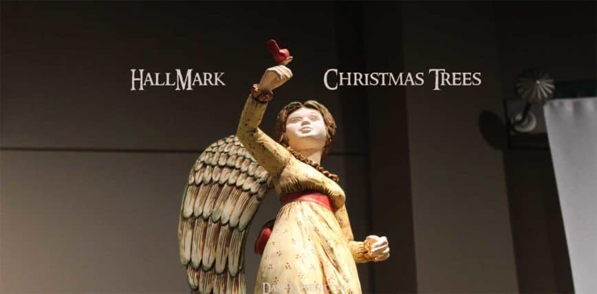 Hallmark Ornament Trees for Christmas