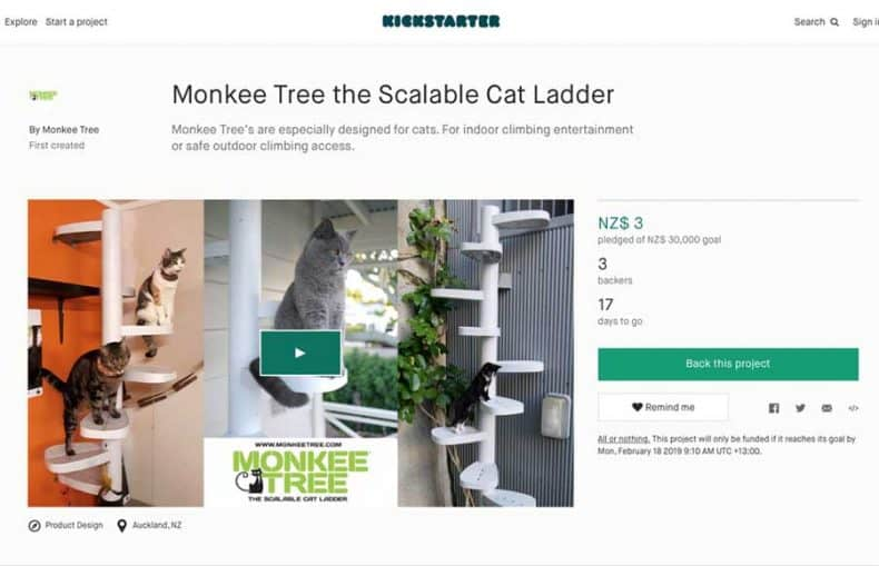 Monkee Tree Kickstarter