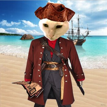 Harvey The Pirate