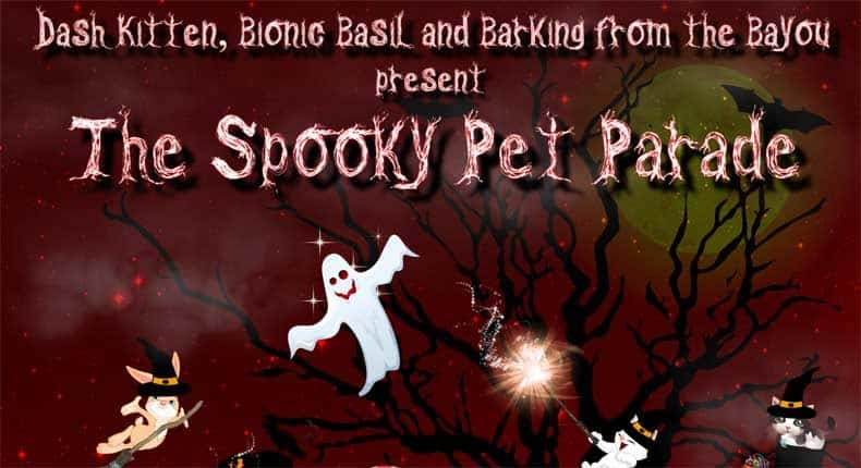 Spooky Pet Parade