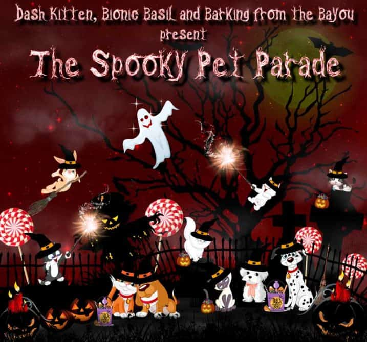 The Spooky Pet Parade Halloween Banner 2018