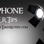 DSLR & Smartphone Graphic to indicate a photographic post.