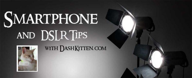 DSLR & Smartphone Graphic