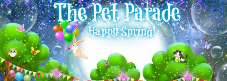 Pet Parade Spring Header