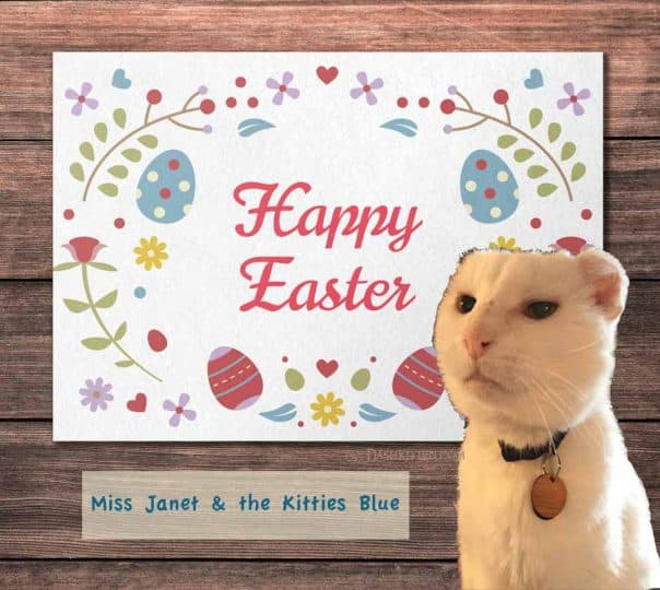Easter Card from Harvey