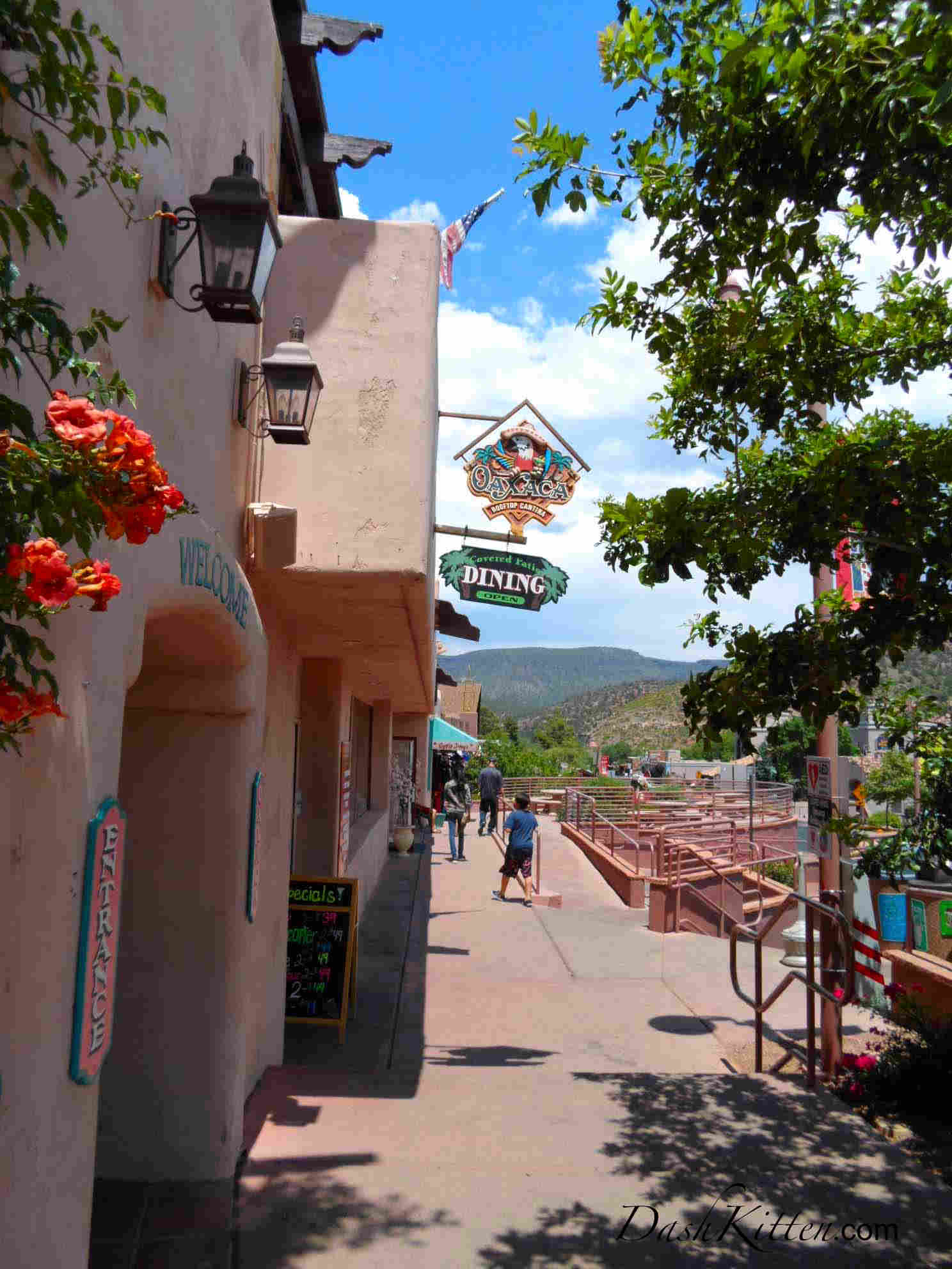 Oaxaca Restaurant Entrance, Sedona