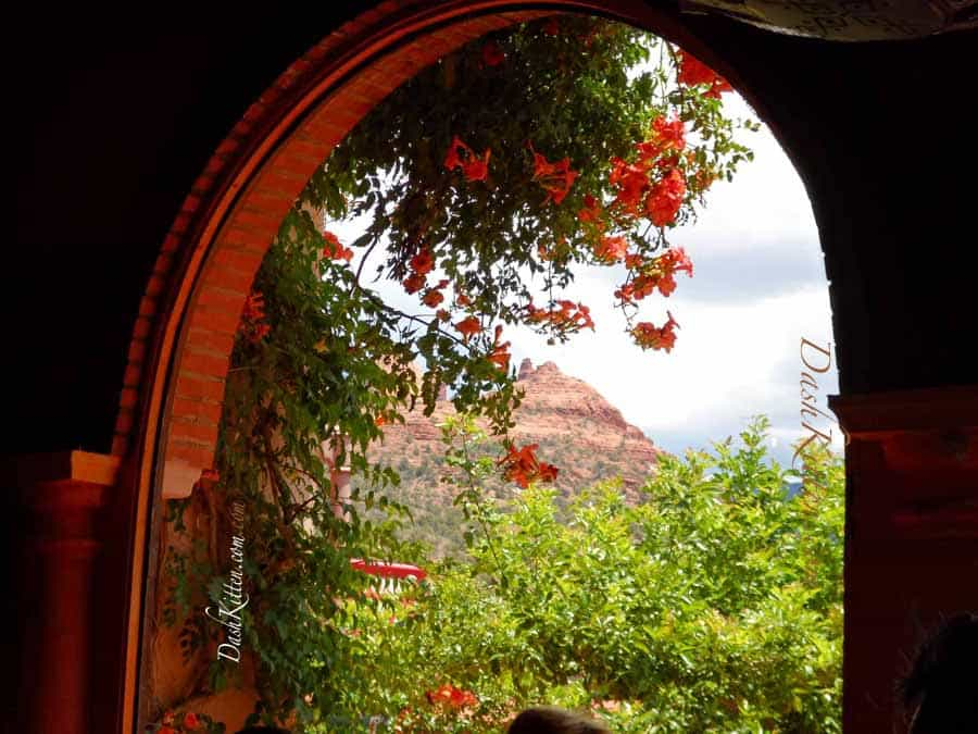 Window view Sedona