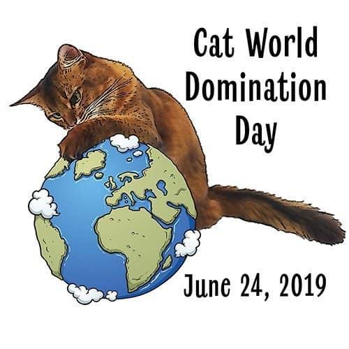 Cat World Domination Day