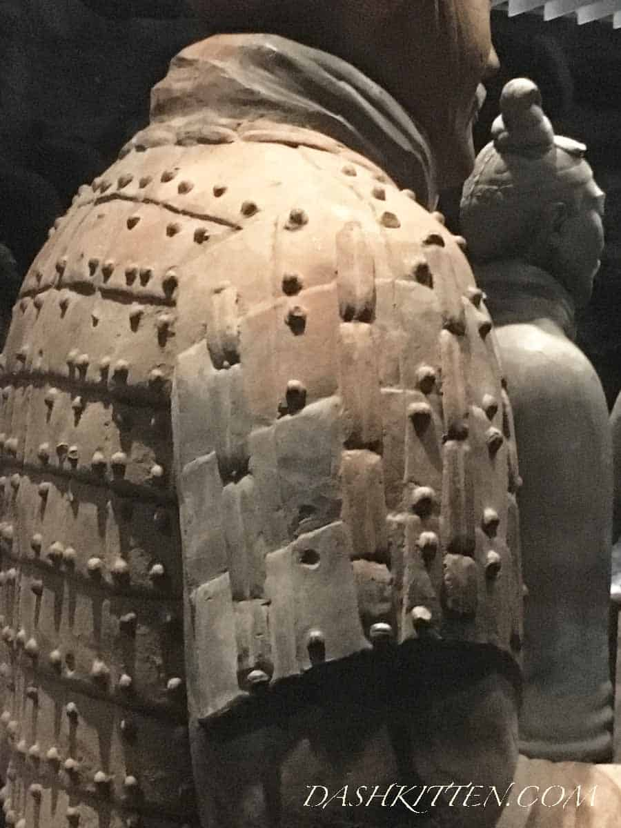 Armour closeup Terracotta Warrior Smartphone image