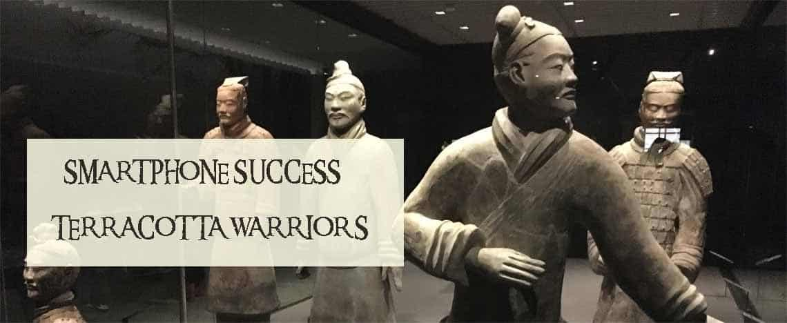 Terracotta Warriors Smartphone Image