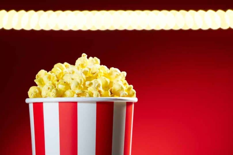 Free popcorn during our August movie reviews