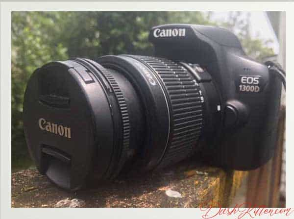 Camera Model Canon EOS 1300D or the Rebel T6